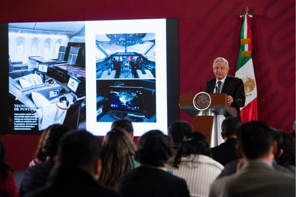 Photo of El Presidente plantea una rifa de 6 millones de cachitos de Lotería de a 500 pesos, para vender el Avión Presidencial