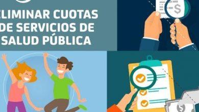 Photo of Eliminar cuotas de Servicios de Salud Pública
