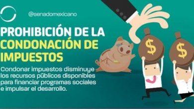 Photo of Prohibición de la condonación de impuestos