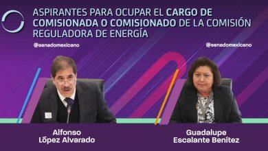 Photo of Aspirantes para ocupar el cargo de Comisionada o Comisionado de la Comisión Reguladora de Energía