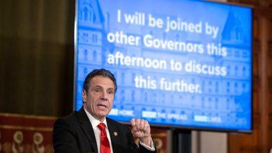 """Photo of Cuomo dice que los Gobernadores discuten """"Geográficamente coordinados"""" el Plan de Reapertura"""