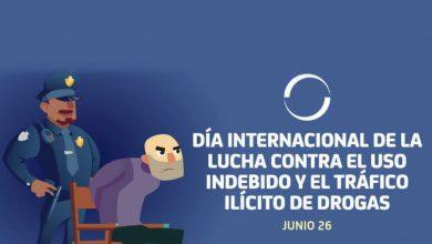 Photo of Día Internacional de la Lucha Contra el Uso Indebido y el Tráfico Ilícito de Drogas