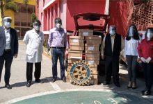 Photo of El Club Rotario Plateros Centro Histórico y el Club Rotaract Plateros Centro Histórico TESE en apoyo y solidaridad con el personal médico