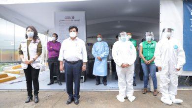 Photo of Se instala Carpa de Atención a pacientes con síntomas de covid–19 en la Alcaldía Gustavo A. Madero