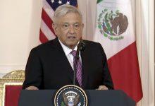 Photo of Mensaje a Medios del Presidente de México, Andrés Manuel López Obrador durante la cena en su honor en la Casa Blanca