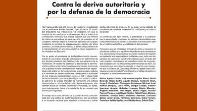 Photo of Contra la deriva autoritaria y por la defensa de la democracia