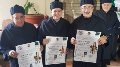 Photo of Cuatro  periodistas y una escritora son investidos Doctores Honoris Causa