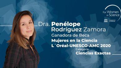Photo of Premio Internacional a la joven científica mexicana Penélope Rodríguez Zamora