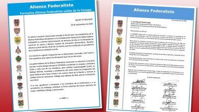 Photo of Alianza Federalista formaliza su salida de la CONAGO