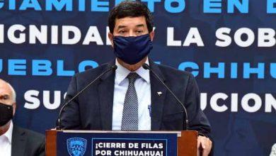 """Photo of """"Estamos listos para dar la batalla política y legal contra el abuso y el atropello"""": Javier Corral"""