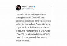 Photo of El Presidente da a conocer que es positivo de COVID–19, anuncia por su red social que Sánchez Cordero estará en las mañaneras por él
