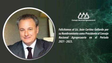 Photo of Juan Cortina Gallardo fue electo presidente del Consejo Nacional Agropecuario para el periodo 2021-2023