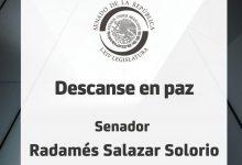 Photo of En Memoria del Senador Radamés Salazar Solorio