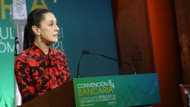 """Photo of Claudia Sheinbaum agradece """"El enorme esfuerzo y el apoyo que hemos recibido de toda la banca en esta época de pandemia"""""""