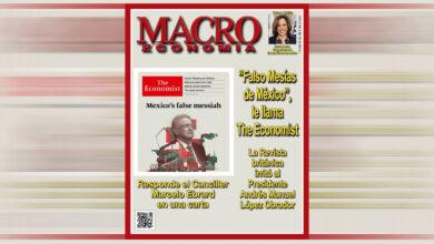 "Photo of ""The Economist"" irrita al Presidente Andrés Manuel López Obrador"