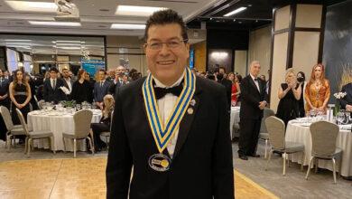 """Photo of El Dr. Octavio Figueroa López, nuevo Gobernador Rotario del Distrito 4170: """"Servir para cambiar vidas"""""""