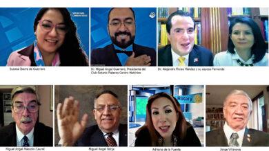 Photo of La juventud marca el rumbo del mundo Rotario; el Dr. Miguel Angel Guerrero nuevo Presidente de Plateros Centro Histórico
