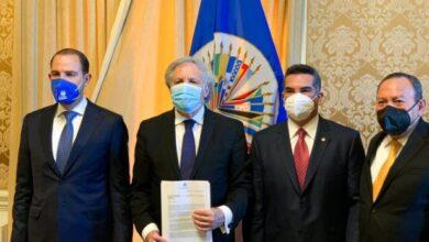 Photo of El bloque opositor PRI, PAN, PRD denuncia ante la OEA la situación de México