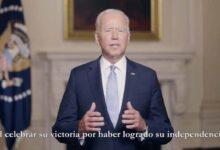 Photo of Mensaje del presidente Biden por el 200 aniversario de la independencia de México