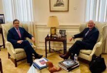 Photo of El Embajador Salazar se presenta ante la Embajada de México en EUA