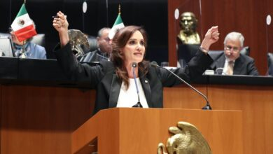"Photo of Fracaso de la política ""Abrazos No Balazos"", planteó la Senadora Lilly Téllez"