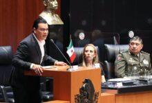"""Photo of """"Ese tan llevado y traído lema de la cuarta transformación, no va a ser posible si no se les regresa la seguridad a los mexicanos"""": Juan Zepeda de Movimiento Ciudadano"""