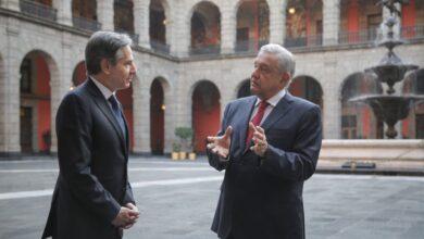 """Photo of """"Seria muy lamentable que no nos entendiéramos"""", advirtió López Obrador a Blinken"""